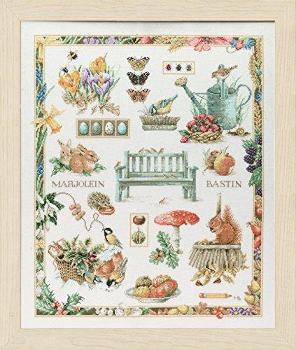 Bastin Cross Stitch - Lanarte - M B Collage - Marjolein Bastin Cross-stitch kit