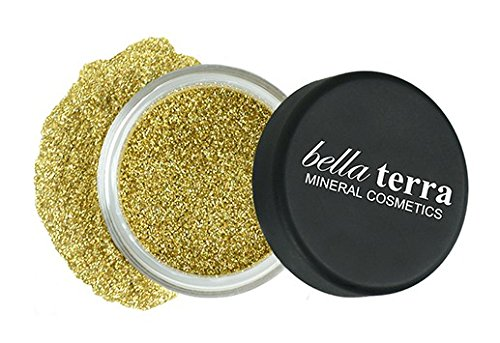 (Mineral Glitter Eyeshadow Makeup Powder â Metallic Cosmetic Highlighter for Face & Nails â Pigment Dust - Natural Makeup)