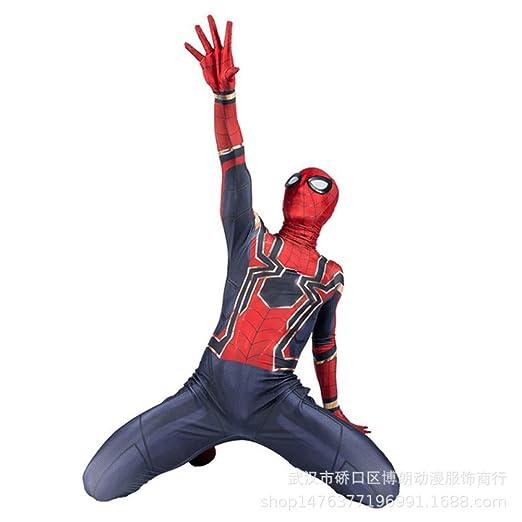 CVFDGETS Traje De Spiderman Niño Adulto Iron Man Disfraz De ...
