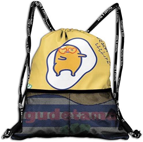 ぐでたま 6 大容量 クファッション印刷 バックパッ男女兼用 バックパック小新鮮 旅行スポーツバッグ 防水スイミングバック学生バッグ 多機能 収納バックパッ通勤 大容量 男女兼用 バックパック