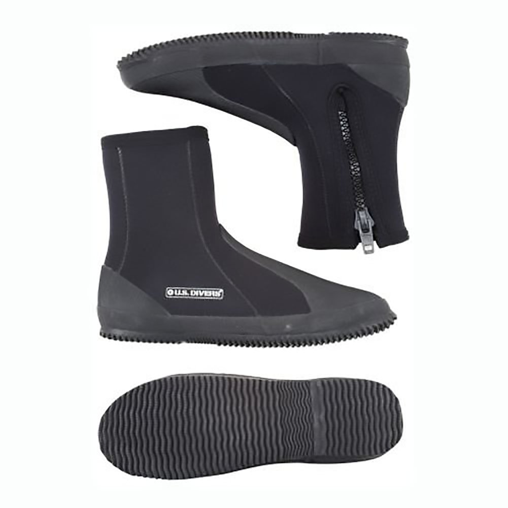 U.S. DIvers Comfo High Cut Snorkeling and Diving Boots Size: Adult 9 by U.S. Divers