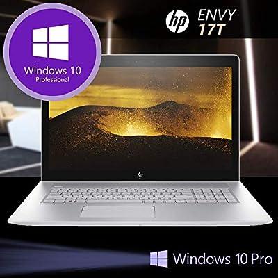 HP Envy 17T Touch Intel Core i7-8550U Quad Core, 512GB SSD, 16GB RAM, Win 10 Pro HP Installed