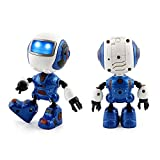 Sensing Touch Musical Robot Toys, BURFLY 2017 Multi-function Smart Flashing Alloy Mini Robot, For Over 3 Years Old Kids Boys Girls Toys Gifts (blue)