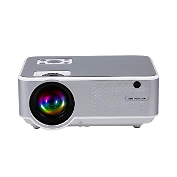 Festnight Toma USB 720p Proyector LED 720p Puerto VGA para Home ...