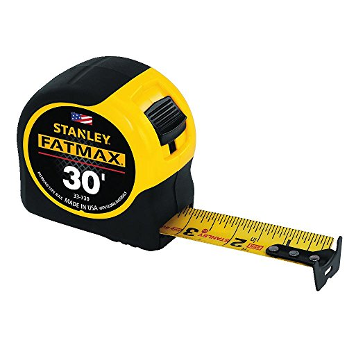 076174337303 - Stanley 33-730 30-Foot-by-1-1/4-Inch FatMax Measuring Tape carousel main 1