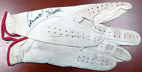 Arnold Palmer Signed Used Golf Glove - Certified Genuine Autograph By PSA/DNA
