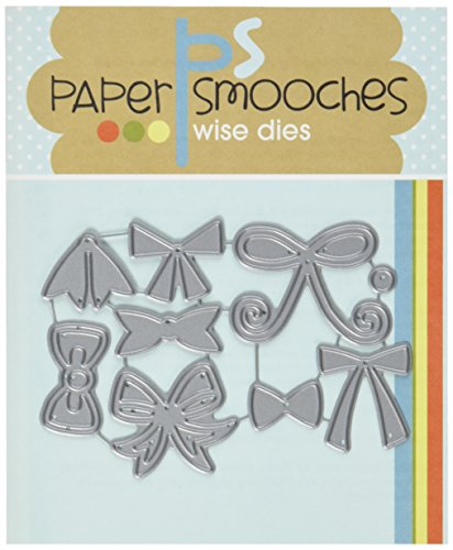 Paper Smooches Bows Die