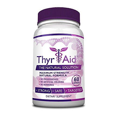 ThyrAid Schisandra Selenium Ashwaghnada Hypothyroidism product image