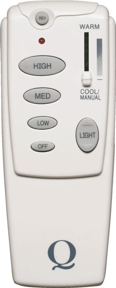 White Fan Remote 7-1401-0 by Quorum
