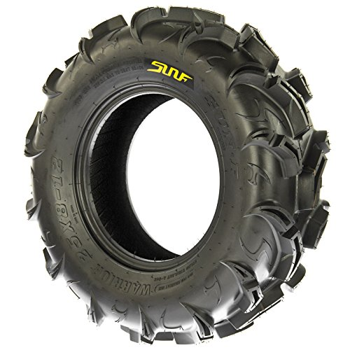 SunF Warrior AT-Mud & Trail ATV/UTV Off-Road Tires (26x9-12 Front & 26x11-12 Rear) , 6 PR (Full Set of 4)|A048 by SunF (Image #2)