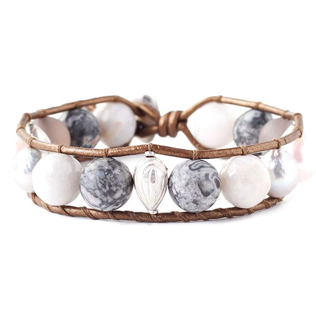 Chan Luu Grey Mix Freshwater Cultured Pearl Single Wrap Bracelet