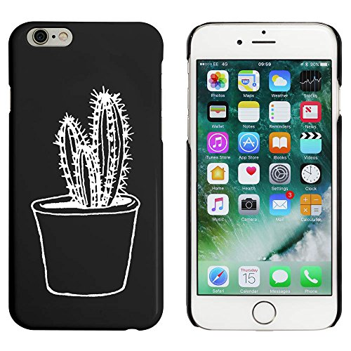 Noir 'Cactus' étui / housse pour iPhone 6 & 6s (MC00090718)