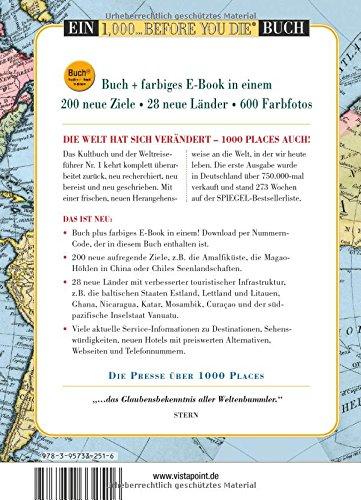 1000 Places To See Before You Die: Die neue Lebensliste für den ...