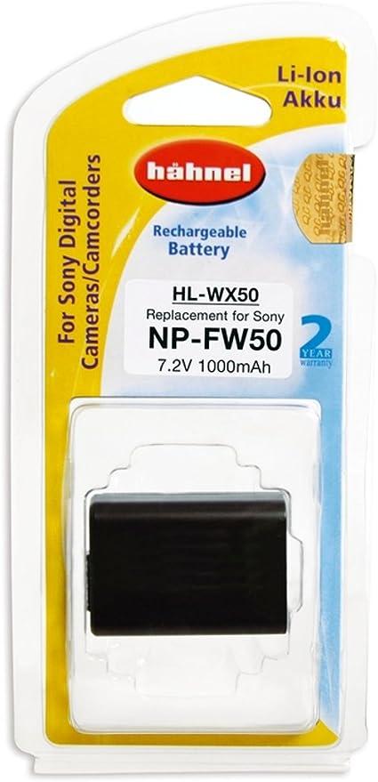Hähnel Hl Xw50 7 2v 950mah Ersatzakku Typ Sony Np Fw50 Kamera