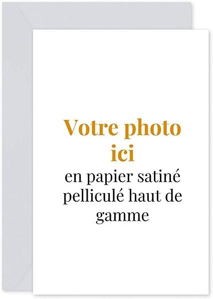 Popcarte 16 Cartes D Invitation Anniversaire Enfant Fille Et Garcon Personnalisables Avec Votre Photo Texte