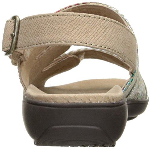 Sandal Wedge Trotters Kendra Multi Women Sand wU8qBYBSx