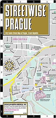 Streetwise Prague Map - Laminated City Center Street Map of ...