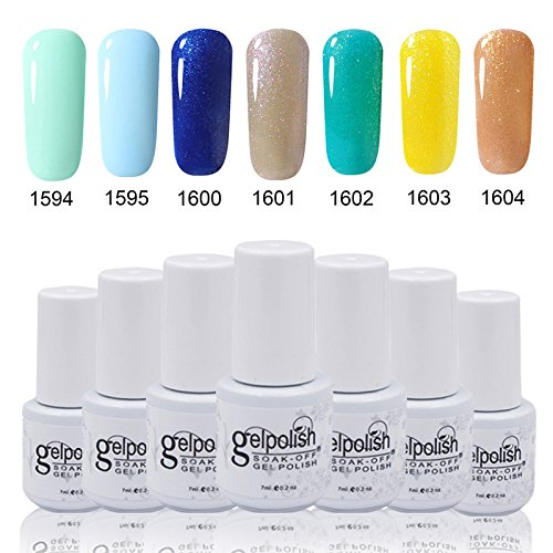 7ml Soak Off CLHVUZ Lovely Gel Nail Polish UV Varnish Man...