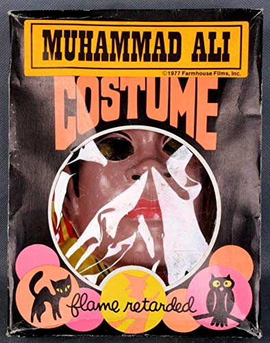 1977 Farm House Films, Inc. - Muhammad Ali Halloween Costume with Box -