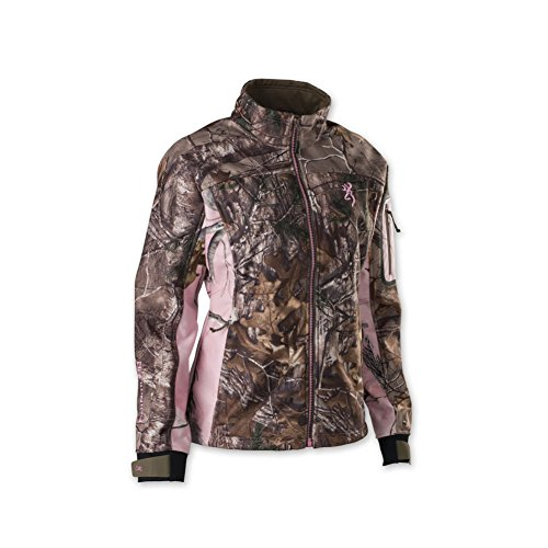 Browning 3046102403 Hell's Belles Soft Shell Jacket, Realtree Xtra, Large