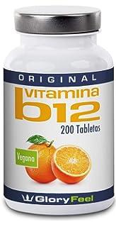 Vitamina B12 Sublingual - 200 Comprimidos de vitamina b12 con 1000 mcg - Vitamina B12 -