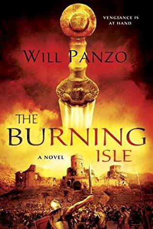 book cover of The Burning Isle