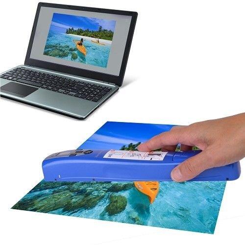 Pandigital Handheld Wi-Fi Wand Scanner Blue S8X1103BE