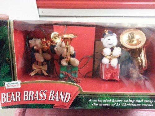Vintage Mr.christmas Bear Brass Band