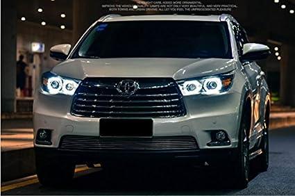 Amazon Com Gowe Car Styling For Toyota Highlander Headlights 2015