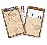 Image of GoSports Coaches Boards - 2 Sided Premium Dry Erase Clipboards - Choose from Baseball, Basketball, Football, Soccer, Hockey, Lacrosse, or Volleyball