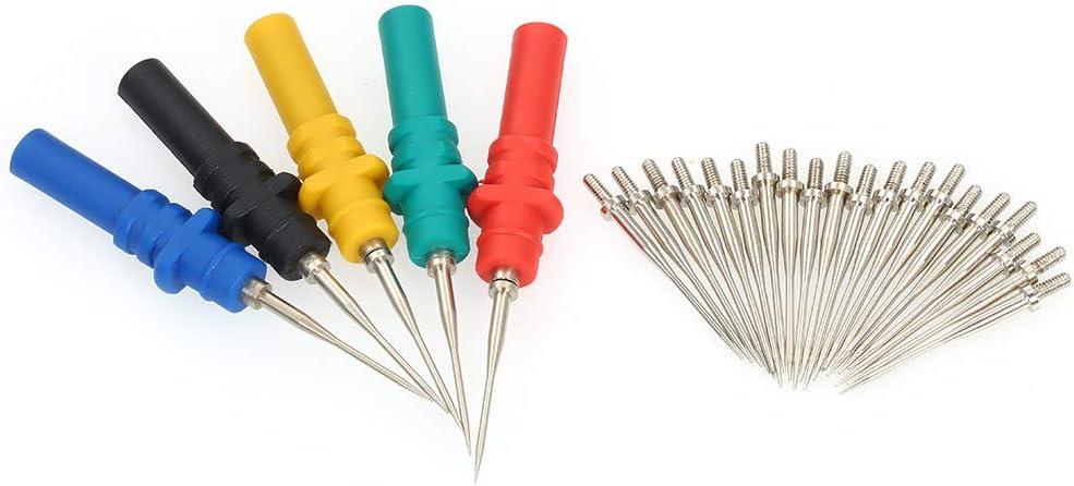 Kit de Fils de Test, 5 couleurs assorties HT307 Retour /épinglage Sondes AIGUILLE Piercing Sondes