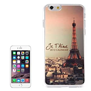 Eiffel Tower Plastic Case para iPhone 6