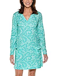 UPF 50+ Women s Beach Cover-Up Dress - Sun Protective 0fd574fa0