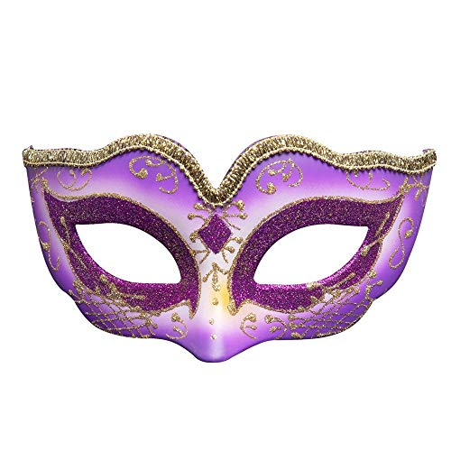 (Wetietir Festival Mask Europe and The United States Creative Custom Children's Masquerade Party Halloween Mask Christmas Atmosphere Mask mask (Color : RED) Costume Mask (Color :)