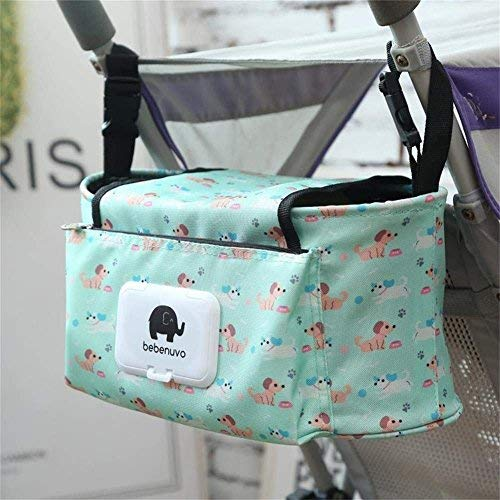 Baby Hanging Stroller Organiser Baby Bag, Buggy Bottle Holde