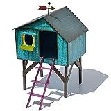 Miniature Fairy Garden Folksy Tree House