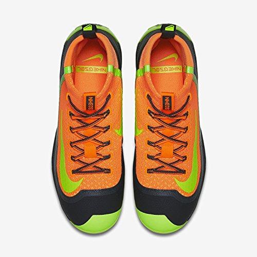 Nike Heren Air Huarache 2kfilth Elite Mid Baseball Cleat Oranje / Antraciet / Volt