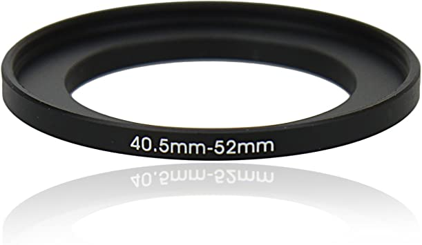 Universal Camera accessories 40.5-52mm Step Up Metal Lens Adapter Filter Ring //40.5mm Lens to 52mm Accessory