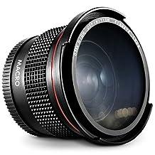 52MM 0.35X Altura Photo Professional Super Fisheye Wide Angle Lens w/ Macro Close Up for Nikon D5300 D5200 D5100 D3300 D3200 D3100 D3000 DSLR Cameras