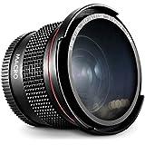 Altura Photo 58MM 0.35x Fisheye Wide Angle Lens with Macro Close-Up Portion