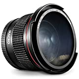 Altura Photo 52MM 0.35x Fisheye Wide Angle Lens with Macro Close-Up Portion
