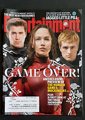 Entertainment Weekly Magazine (October 9, 2015) Game Over: The Hunger Games (Red Direct Magazine)