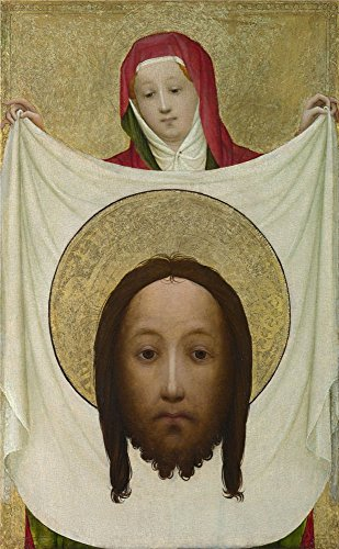 Saint Veronica Costume (Oil Painting 'Master Of Saint Veronica Saint Veronica With The Sudarium ' Printing On High Quality Polyster Canvas , 20 X 32 Inch / 51 X 82 Cm ,the Best Laundry Room Decor And Home Decoration And Gifts Is This Best Price Art Decorative Prints On Canvas)