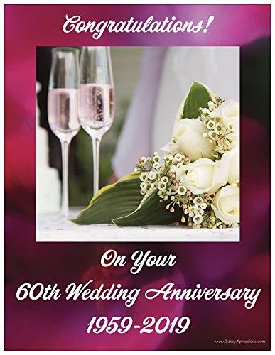 2019 60th Wedding Anniversary Magnet