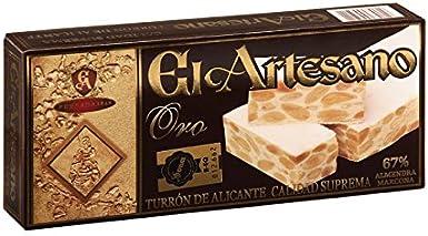 Turron de Alicante 150g El Artesano Oro (Pack de 6 unidades) por Zapore Jai: Amazon.es: Alimentación y bebidas