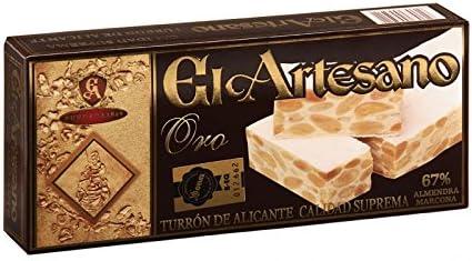 Turron de Alicante 150g El Artesano Oro (Pack de 6 unidades) por ...