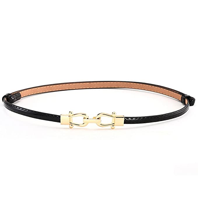 Womens Skinny Thin Fashion Belt Candy Colours
