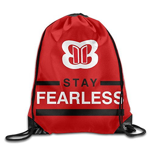 Nikki Bella Stay Fearless Bella Twins Drawstring Gymsack Bag Duke Blue Devils Gym Bag