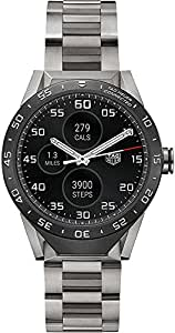Amazon.com: TAG HEUER CONNECTED Grade 2 Titanium bracelet ...
