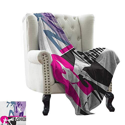 Anyangeight Teen Girls, Throw Blanket, Composition, used for sale  Delivered anywhere in USA